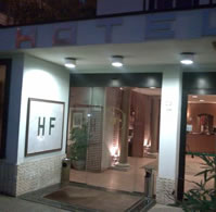 Hotel Flaminius Entrance